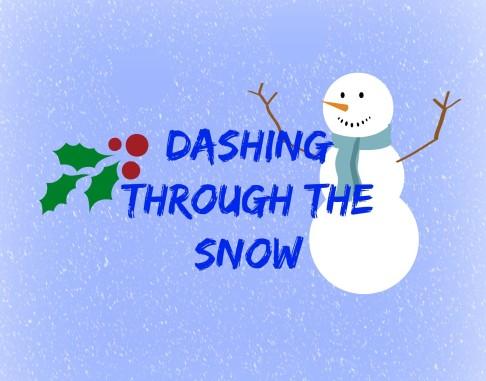 dashing through the snow tag
