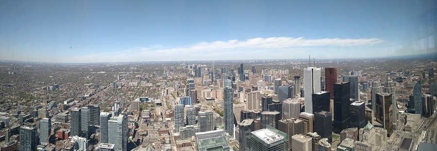 CN Tower panoramic